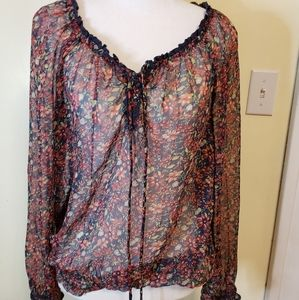 Shear Decree prairie style blouse or BOHO